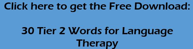 How do you address written language during speech therapy?