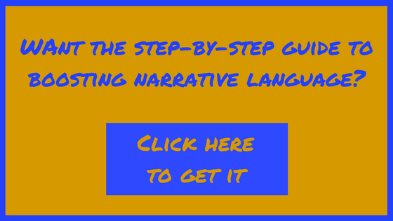 narrative language, language impairments, push-in therapy
