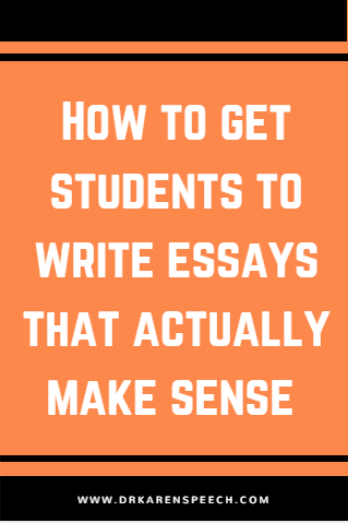 Essay Paper Help Essay Writing Speech Language Therapy Examples Of Persuasive Essays For High School also Synthesis Essay Introduction Example How To Get Your Students To Write Essays That Actually Make Sense  Essay On Business Communication